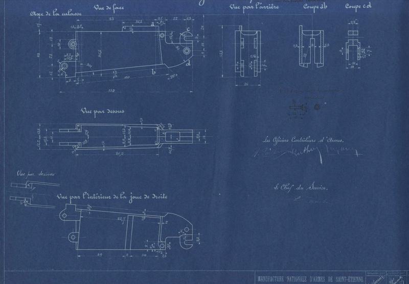Nomenclature/plans Berthier 1907-15 M34 Berthi12