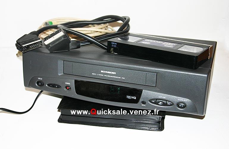 [VENDU] Magnétoscope Schneider VHS HQ 20DV7 12€ Schnei10