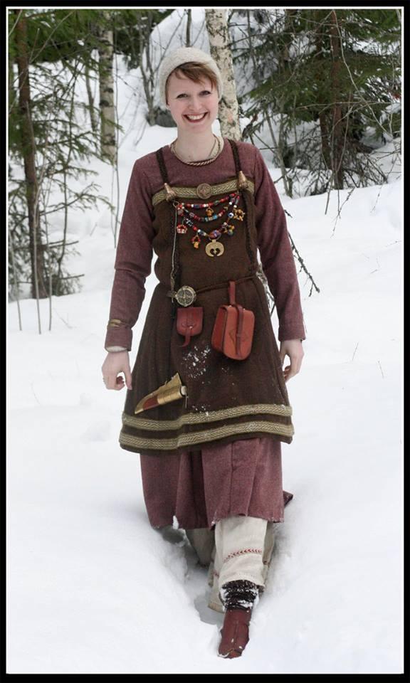 robe et sous robe femme viking : patrons et explications 10112810