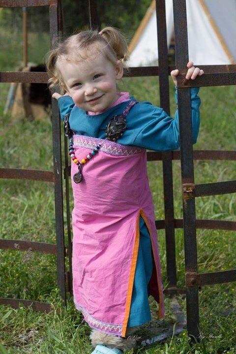 robe et sous robe femme viking : patrons et explications 13055410