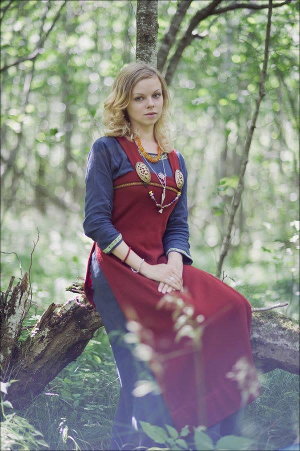 robe et sous robe femme viking : patrons et explications 60384710