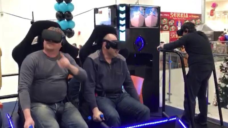 Аттракцион виртуальной реальности Space Rift 2x Start210