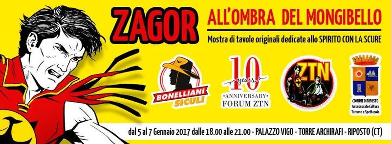 """Zagor """"All'ombra del Mongibello"""" Zagor10"""