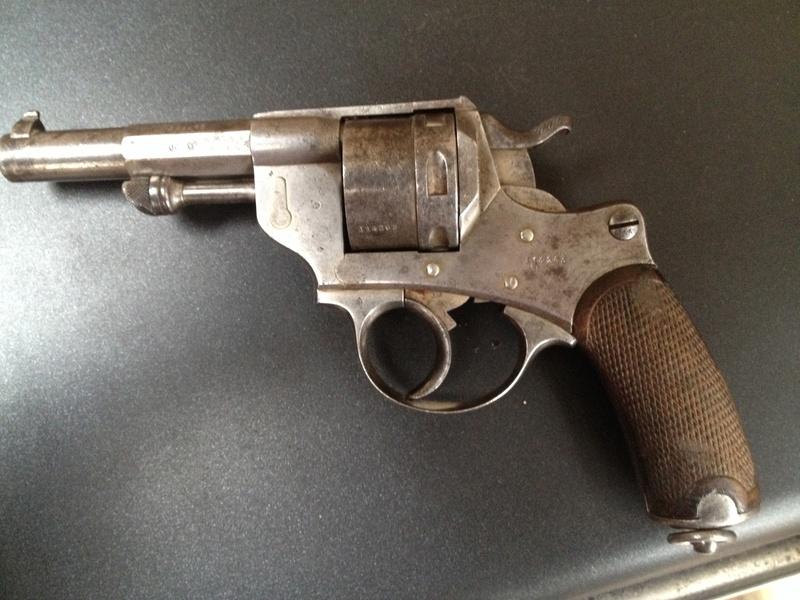 Le Revolver d'ordonnance Français modèle 1873  2014-013
