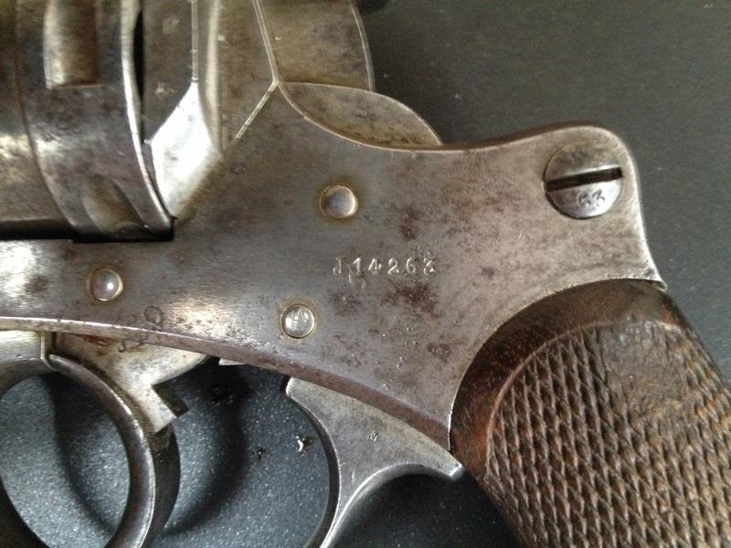 Le Revolver d'ordonnance Français modèle 1873  2014-014