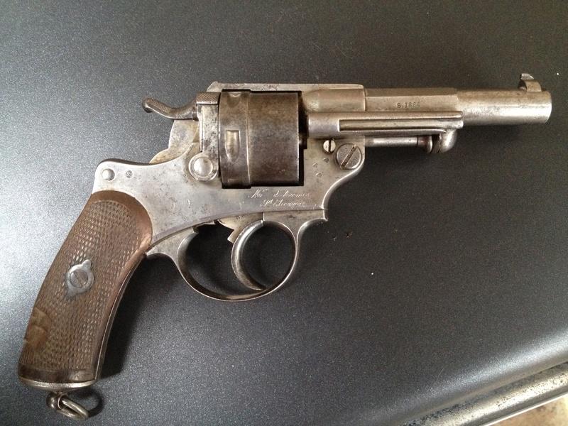 Le Revolver d'ordonnance Français modèle 1873  2014-017