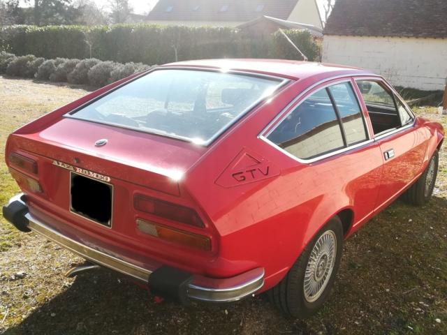 Sauver un coupé Alfetta GTV 2000 de 1978 Arriea10