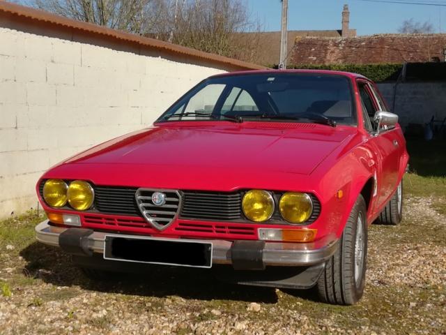 Sauver un coupé Alfetta GTV 2000 de 1978 Avanta10