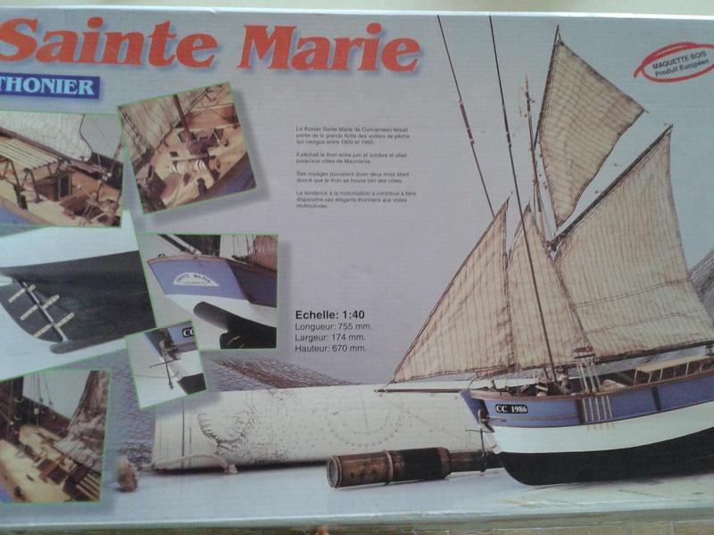 """Thonier """"la Sainte Marie"""" kit au 1/40° par Laguigne43 - Page 2 20161011"""