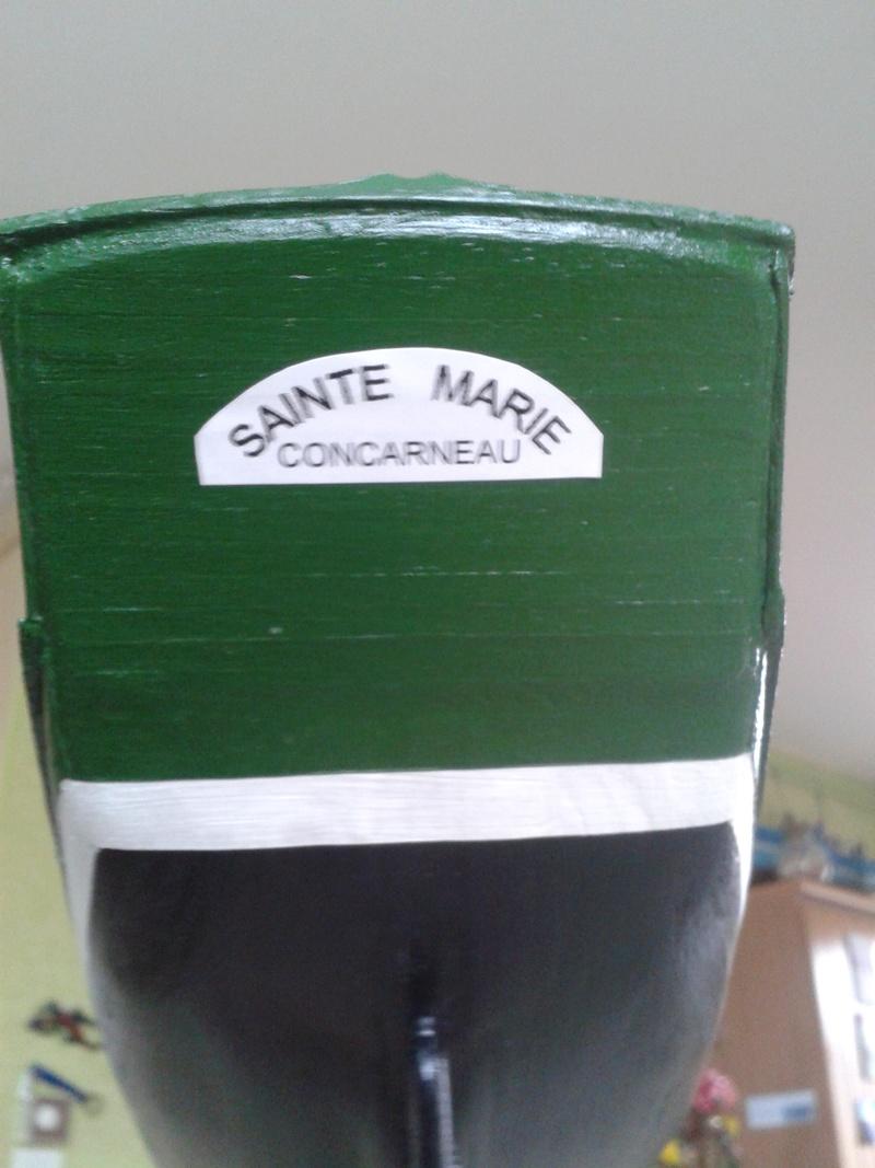 """Thonier """"la Sainte Marie"""" kit au 1/40° par Laguigne43 20161216"""
