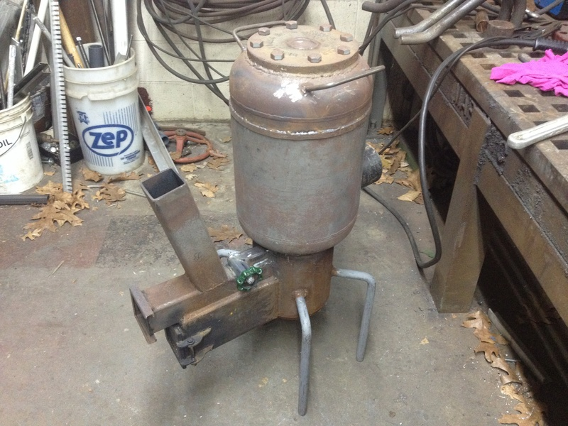 30 lb propane cylinder rocket heater for small shop - Page 3 Img_3310