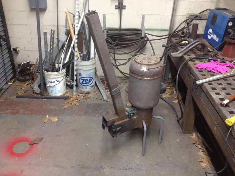 30 lb propane cylinder rocket heater for small shop - Page 3 Img_3311