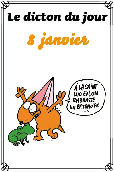 dictons du jour et dictons humour de colette - Page 3 Saintl10