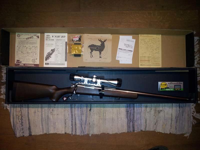 VSR 10 Wood Version Spéciale Pro Hunter Tm-vsr15
