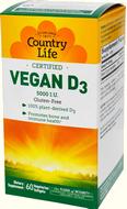 Неживотные (веганские) источники витамина D и нормы его потребления D310