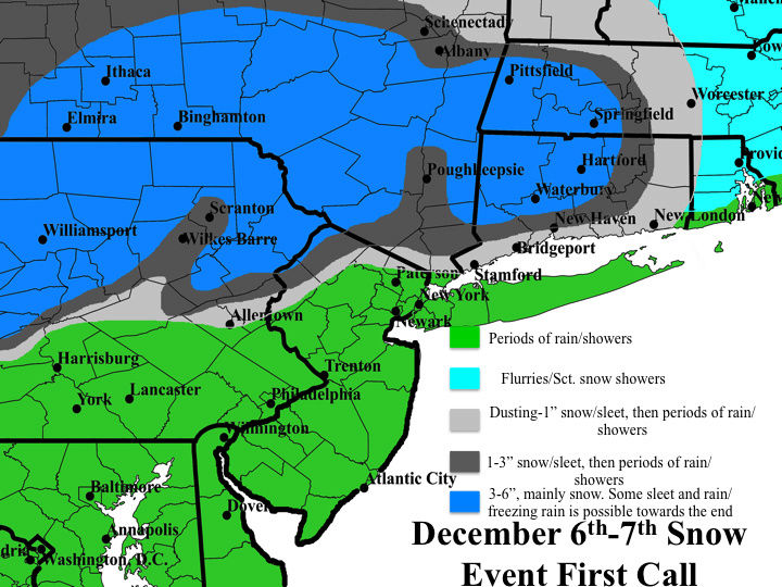 Tuesday 12/6 Snow Event Discussions & Observations Slide110