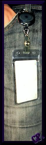iLoveCos Transparenter Kartenhalter Ambein10