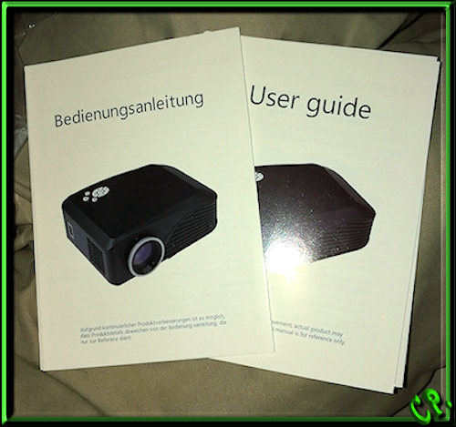 ieGeek Tragbarer LED Heimkino Mini Projektor Anleit23