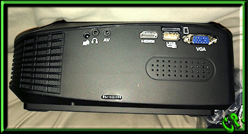 ieGeek Tragbarer LED Heimkino Mini Projektor Ryckse37