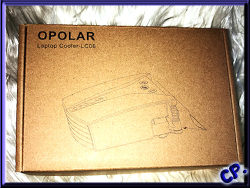 Opolar LC06 Laptop Kühler Verpac77