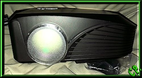 ieGeek Tragbarer LED Heimkino Mini Projektor Vorder16