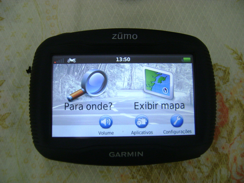 VENDO - GPS GARMIN ZUMO 350LM Dsc07815
