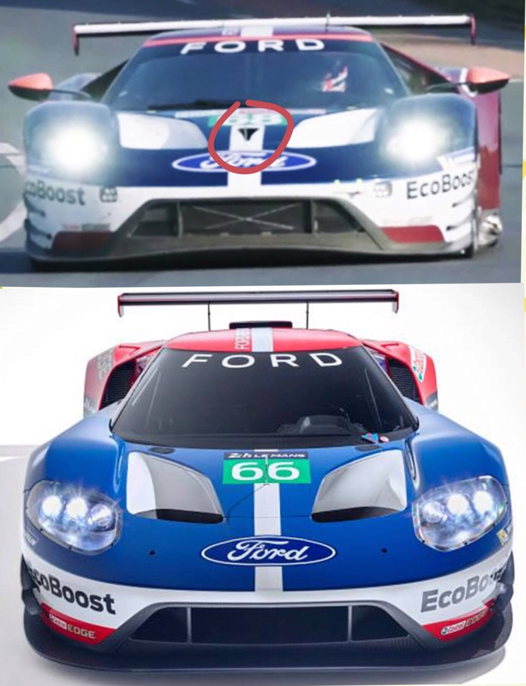 Ford GT, déco Mark II C1f90f10