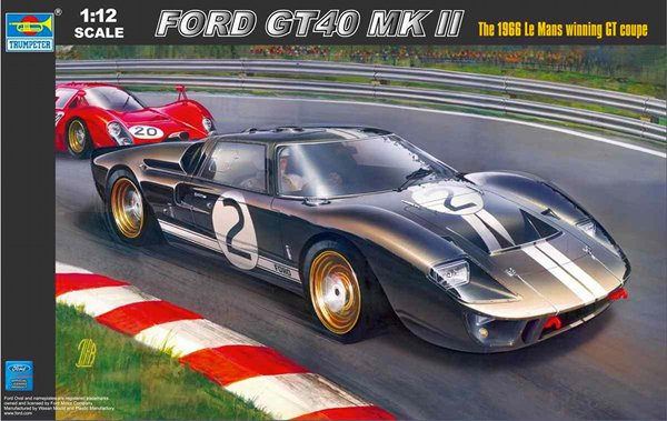Ford GT40 MK2 1966 1:12 Img_0220