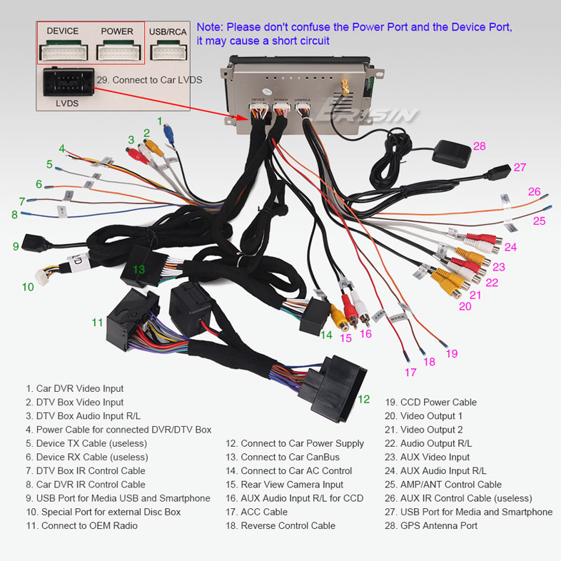 changer autoradio complet a4 a5 q5 par un systeme  chinois  Es745515