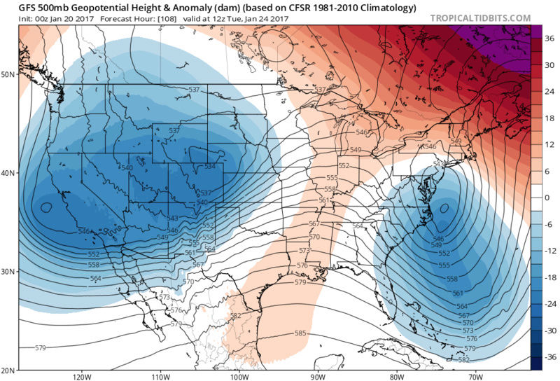 January 22nd-24th Storm Update / Discussions - Page 10 Gfs_z510