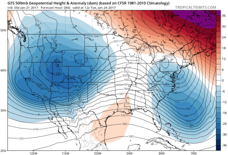 January 22nd-24th Storm Update / Discussions - Page 10 Gfs_z511