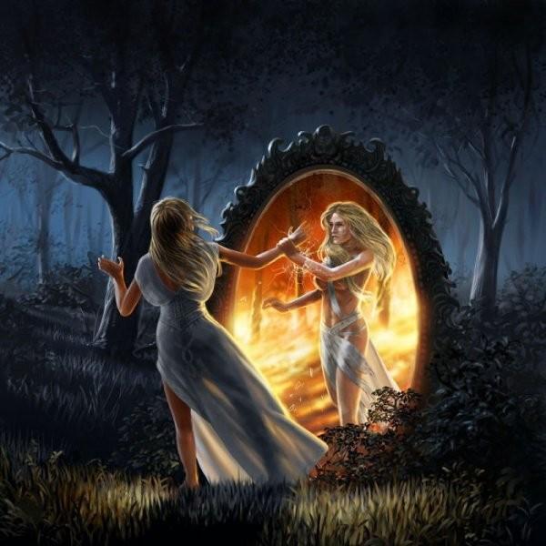 Divination par la catoptromancie Dfb24910
