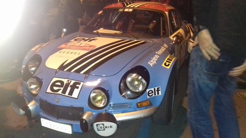 Rallye Monte-Carlo historique Castelnaudary 27/01/2016 20170123