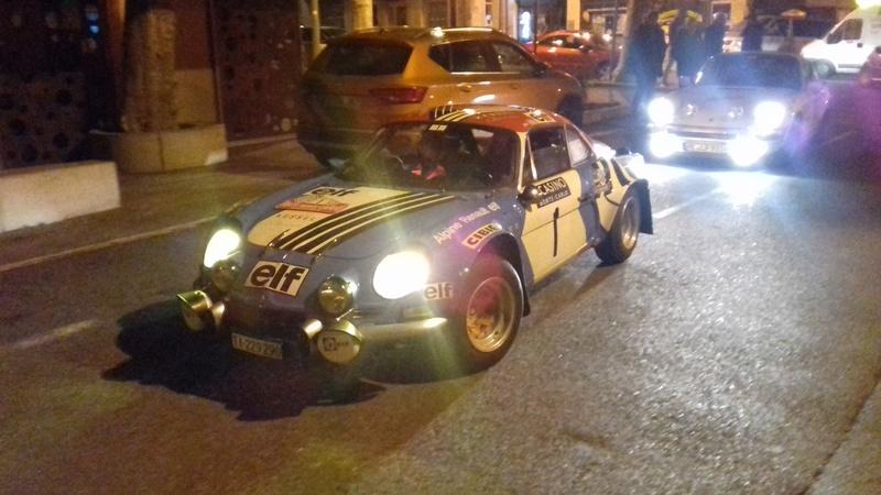 Rallye Monte-Carlo historique Castelnaudary 27/01/2016 20170125