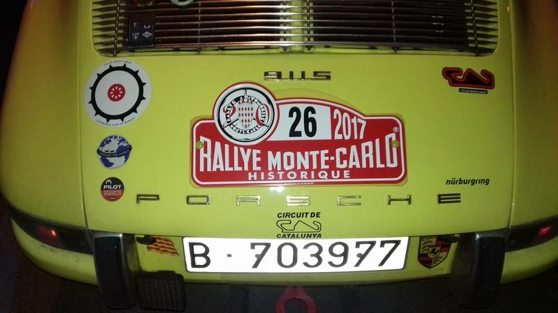 Rallye Monte-Carlo historique Castelnaudary 27/01/2016 20170129