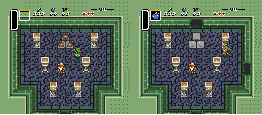 Bomb walls like BS Zelda - Ancient Stone Tablets Bombab10