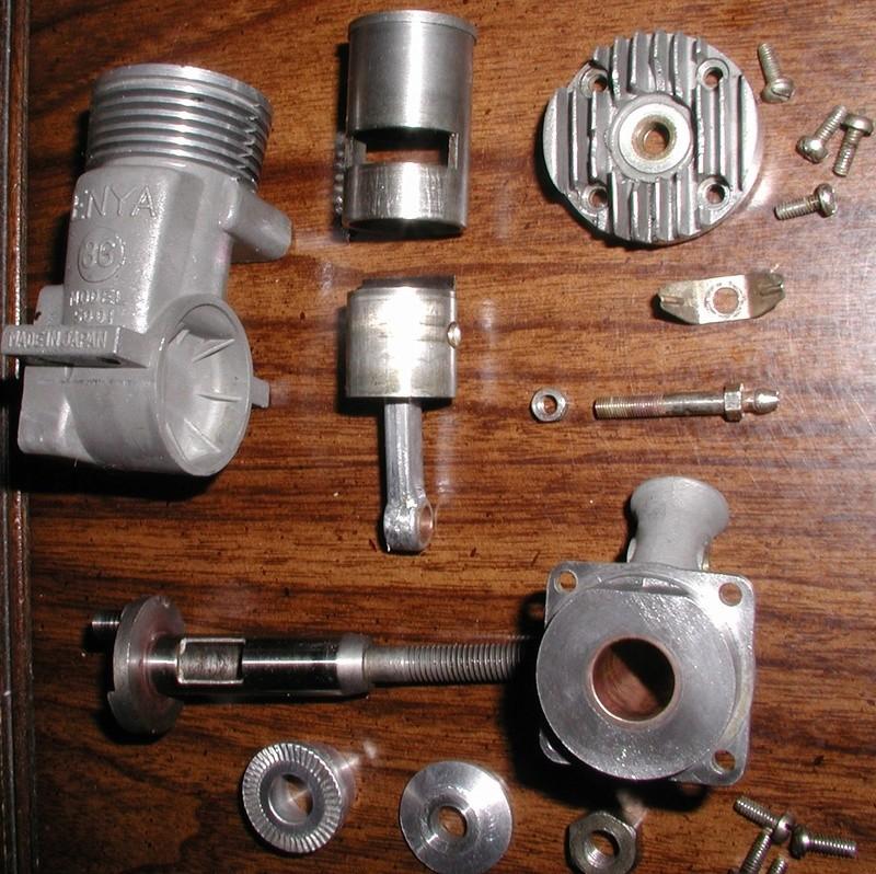 Engine A/F boil Enya_314