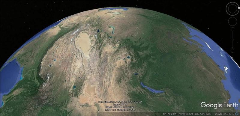 Activation des reliefs sur Google Earth 1012