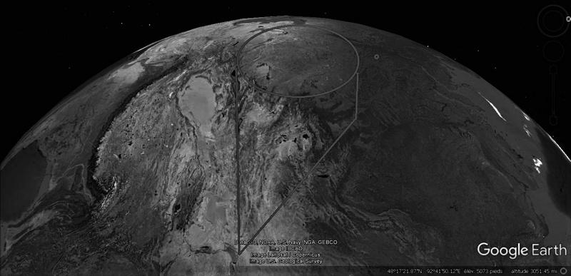 Activation des reliefs sur Google Earth 1013