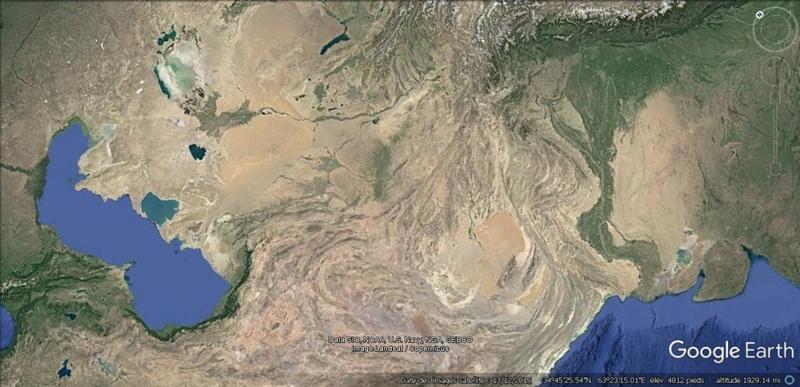 Activation des reliefs sur Google Earth 319
