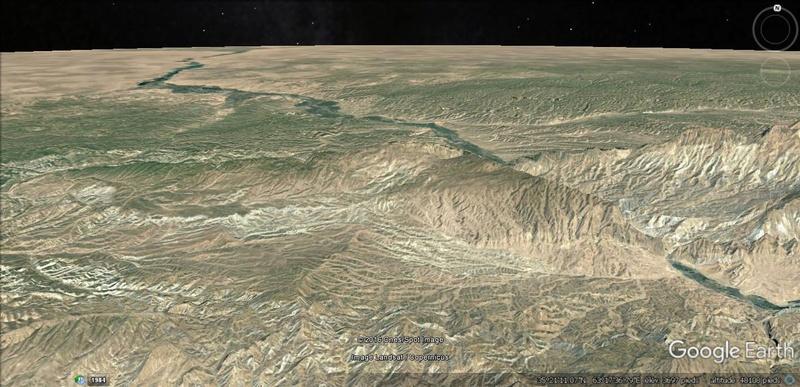 Activation des reliefs sur Google Earth 411