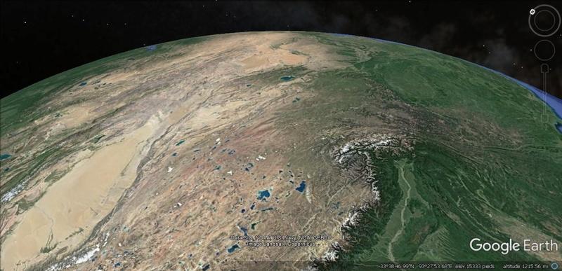 Activation des reliefs sur Google Earth 610