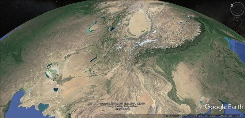 Activation des reliefs sur Google Earth 710