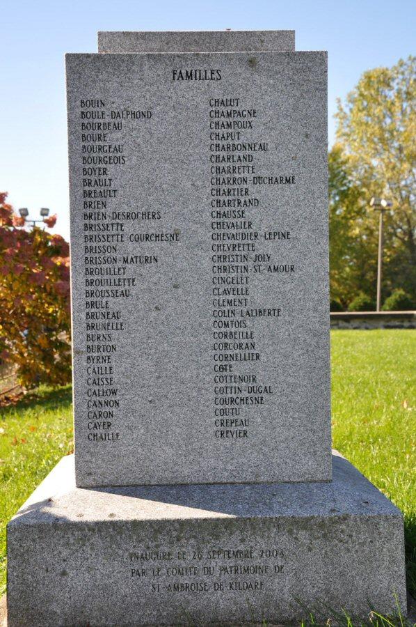 Pionniers de Saint-Ambroise-de-Kildare, Lanaudière, Québec, Canada St-amb10