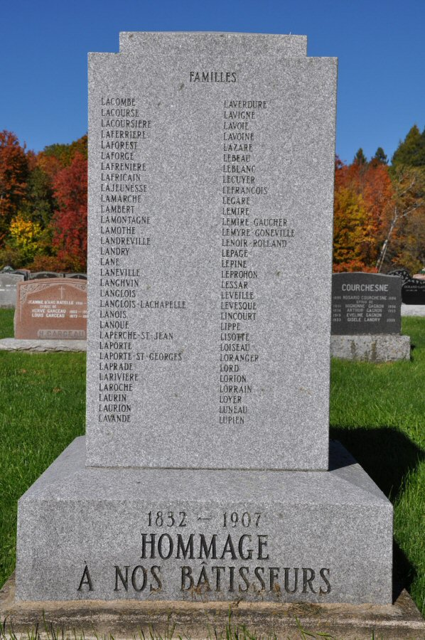 Pionniers de Saint-Ambroise-de-Kildare, Lanaudière, Québec, Canada St-amb15