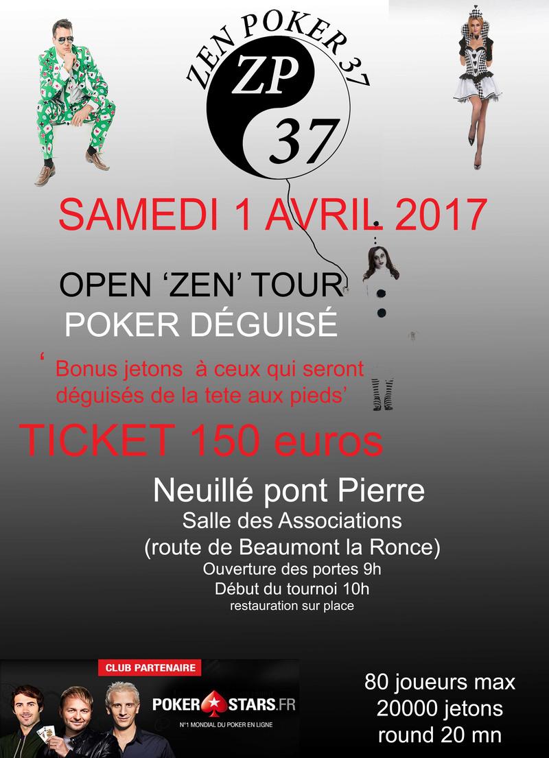 OPEN ' ZEN ' TOUR le 1er avril Tourno10