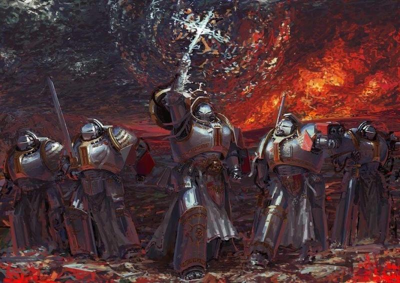 [W40K] Collection d'images : Inquisition/Chevaliers Gris/Sœurs de Bataille - Page 12 15204010