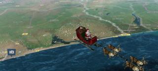 Babbo Natale in diretta sul sito della Nasa Babbot10
