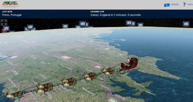 Babbo Natale in diretta sul sito della Nasa Baboen12
