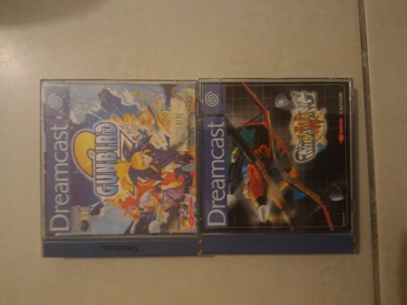[ESTIM] Gunbird 2 et Gigawing sur Dreamcast Pal P_201610
